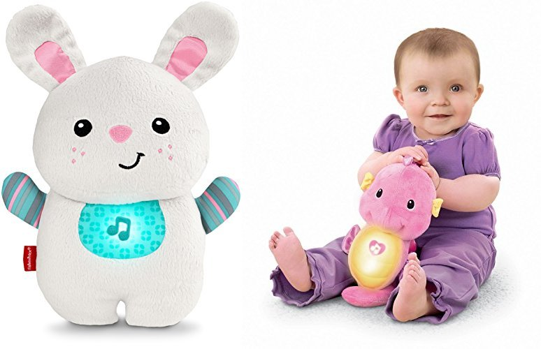 Buy a Select Fisher-Price Toy, Get a Soothe and Glow Bunny or a Pink Soothe and Glow Seahorse for Free!