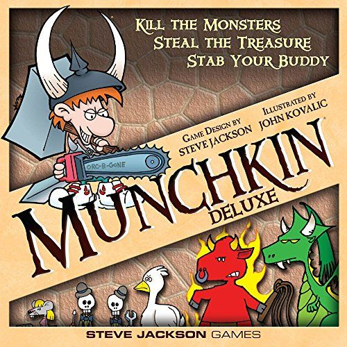 Munchkin Deluxe $16.17 (reg. $29.99)