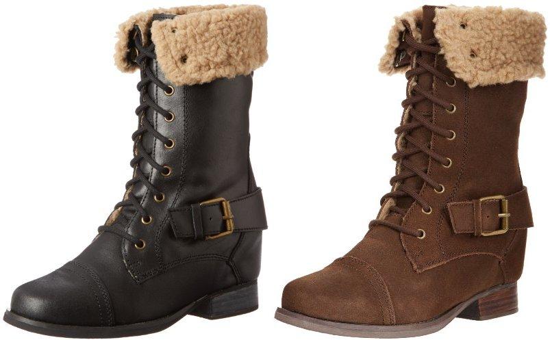 Amazon Cyber Monday: Skechers Women's Infantry-Stylish Soldier Riding Boot -- $28.50 (reg. $95), BEST Price!