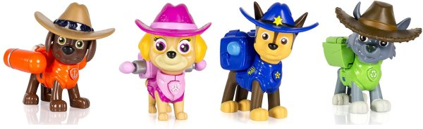 Paw Patrol, Hero Pup, Cowboy Zuma