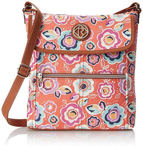 Relic Women's Erica Flap Crossbody Bag, Coral Multi $12.96 (reg. $54.00)