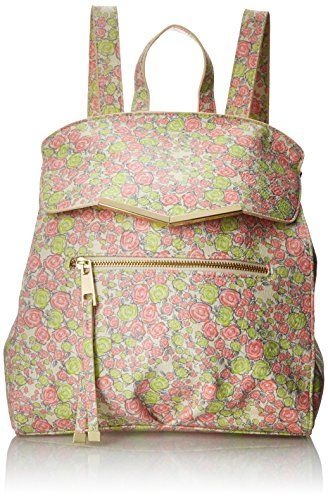 T-Shirt & Jeans Diagonal Flap Printed Backpack, Floral $11.60 (reg. $57.00)