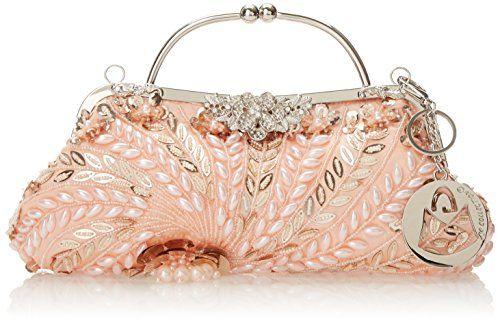 MG Collection Adriana Beaded Evening Bag, Pink $14.40 (reg. $65.00)