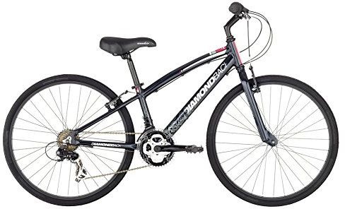 Diamondback Bicycles 2015 Insight 24 Complete Children's Performance Hybrid Bike, 24-Inch wheels/One Size, Black $174.99 (reg. $350.00)