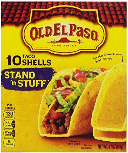 Old El Paso, Stand 'N Stuff Taco Shells, 4.7 oz $1.49