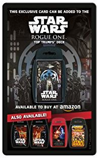 Free Rogue One Collectible Cards When You Buy Select Star Wars Toys