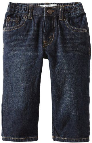 Levi's Baby Boys' 526 Elastic Loose Straight Jean, Midnight, 18 Months $16.15 (reg. $32.00)