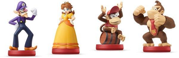 Super Mario Bros. Series Amiibos: Waluigi, Daisy, Diddy Kong & More on Sale!