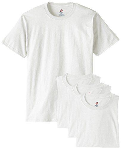 Hanes Men's ComfortSoft T-Shirt (Pack of 4), White $12.29 (reg. $20.00)