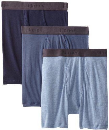 Hanes Men's 3 Pack Ultimate X-Temp Boxer Briefs, Assorted $10.99 (reg. $15.20)