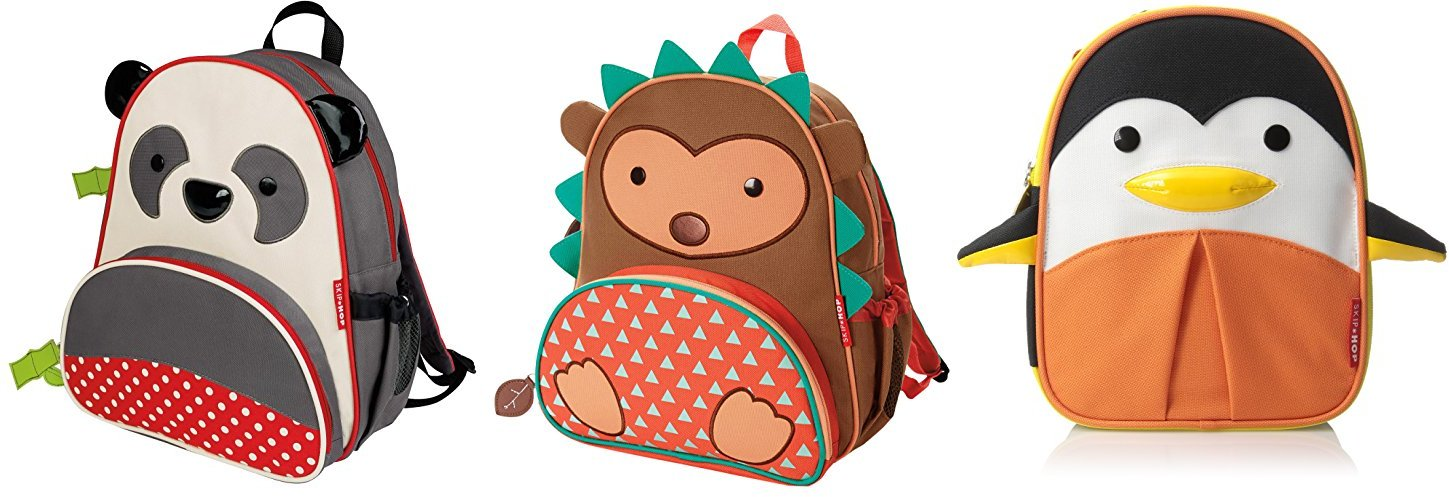 Skip Hop Zoo Little Kid and Toddler Backpack, Ages 2+, Multi Pia Panda