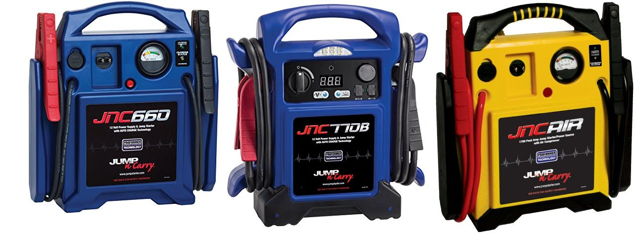 Deal of the Day: 20% off Jump-N-Carry Power Sources!