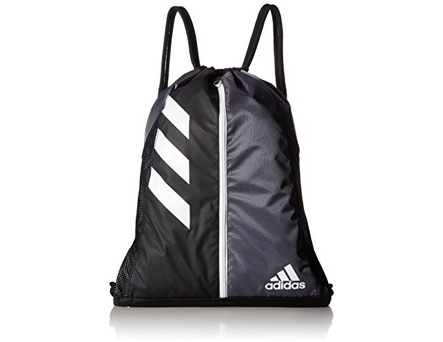 adidas Team Issue Sackpack, One Size, Onix/Black $12.99 (reg. $22.00)