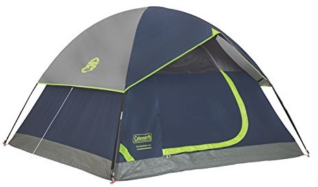 Coleman Sundome 4-Person Dome Tent, Navy/Grey $39.99 (reg. $74.96)