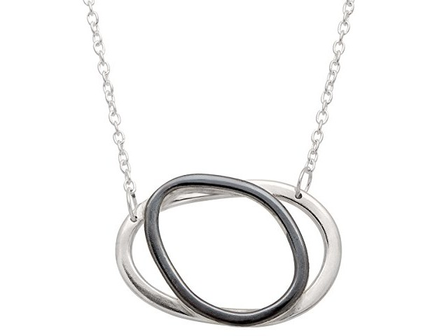 Silpada 'All-Around Chic' Sterling Silver Necklace, 18+2\