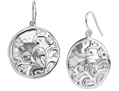 Silpada 'Tidal Wave' Sterling Silver Disc Drop Earrings $49.00