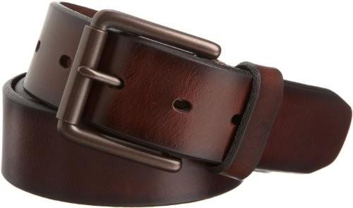 Dockers Men's 1 1/2 in. Leather Bridle Belt, Brown $14.99 (reg. $30.00)