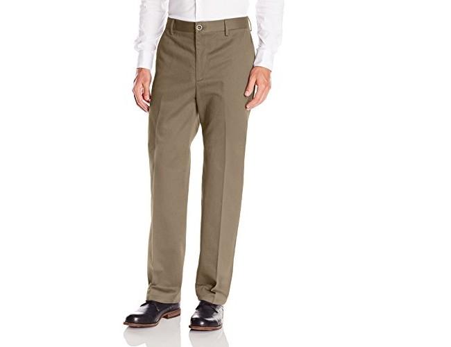 Dockers Men's Classic Fit Flat Front Signature Khaki - 32W x 30L - Bungee Cord (Cotton)-discontinued $19.99 (reg. $34.99)