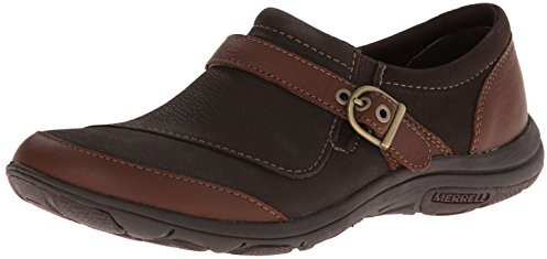 Merrell Women's Dassie Buckle Slip-On Shoe, Brown $59.95 (reg. $99.95)