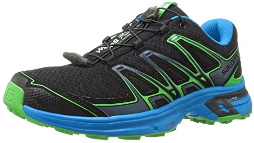 Salomon Men's Wings Flyte 2 Trail Runner, Black/Cloisonné/Classic Green $71.95 (reg. $120.00)