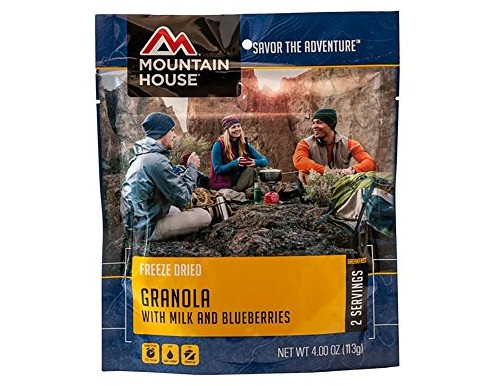 Mountain House Granola with Milk and Blueberries $4.69 (reg. $5.45)