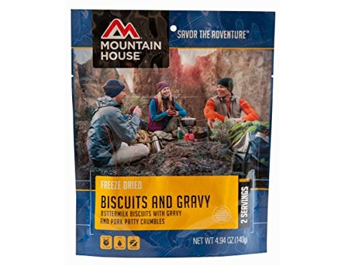 Mountain House Biscuits and Gravy, 4.94 oz, Pouch $5.99 (reg. $6.99)
