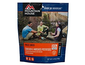 Mountain House Chicken Breast with Rib Meat & Mashed Potatoes $9.05 (reg. $10.49)
