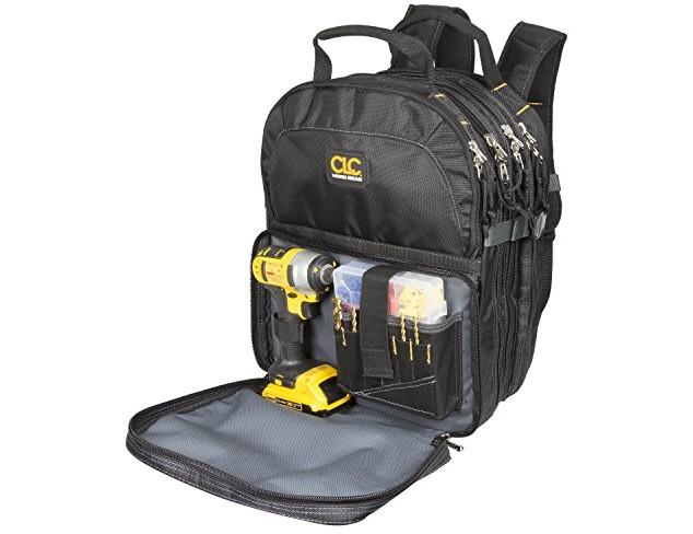 Custom LeatherCraft 1132 75-Pocket Tool Backpack $74.39 (reg. $92.99)