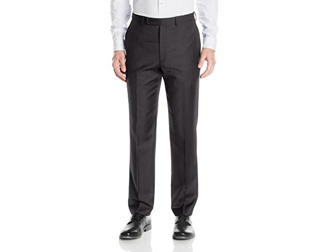 Calvin Klein Men's Modern Fit Flat Front Suit Separate Pant, Black, 38 X 32 $35.00 (reg. $175.00)