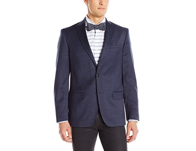 Ben Sherman Men's Slim Fit Ruxley Two Button Suit Separate Jacket, Navy, 44 Long $23.68 (reg. $295.00)