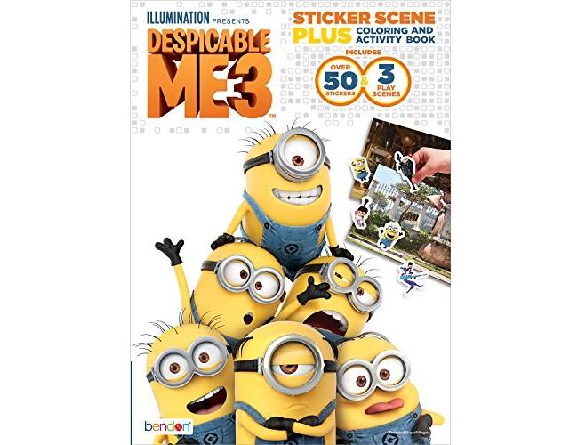 Bendon Despicable Me 3 Sticker Scene Plus Activity Book, 24 Pages (40918) $3.74 (reg. $12.39)
