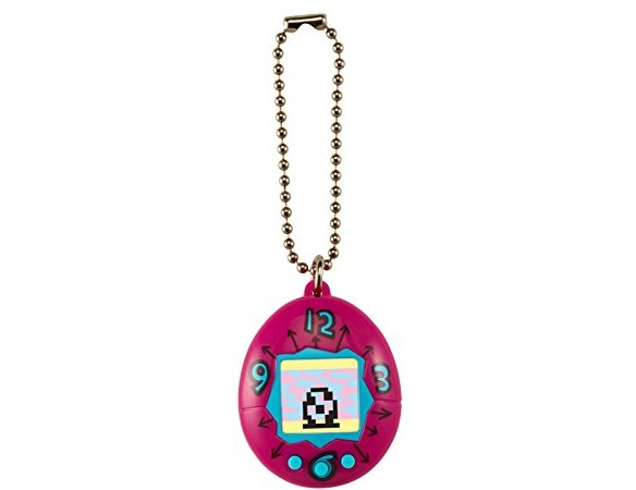 Tamagotchi Toy on a Chain with One Cr2303 Battery Electronic Game (2 Piece), Pink $0.00