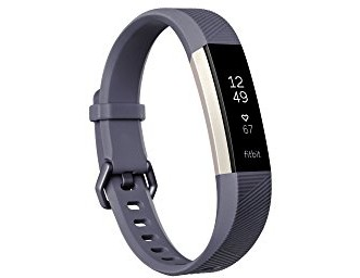 Fitbit Alta HR, Blue/Gray, Small (US Version) $99.00 (reg. $149.95)