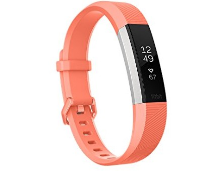 Fitbit Alta HR, Coral, Small (US Version) $99.00 (reg. $149.95)