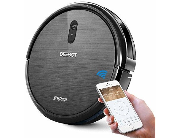 ECOVACS DEEBOT N79 Robotic Vacuum Cleaner with Strong Suction, for Low-pile Carpet, Hard floor, Wi-Fi Connected $149.99 (reg. $299.00)