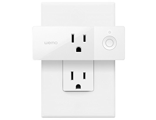 Wemo Mini Smart Plug, Wi-Fi Enabled, Works with Amazon Alexa and Google Assistant $20.00 (reg. $34.99)