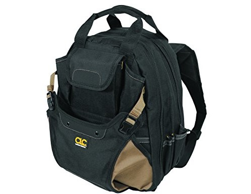 CLC Custom Leathercraft 1134 Carpenter's Tool Backpack with 44 Pockets and Padded Back Support $39.99 (reg. $89.95)