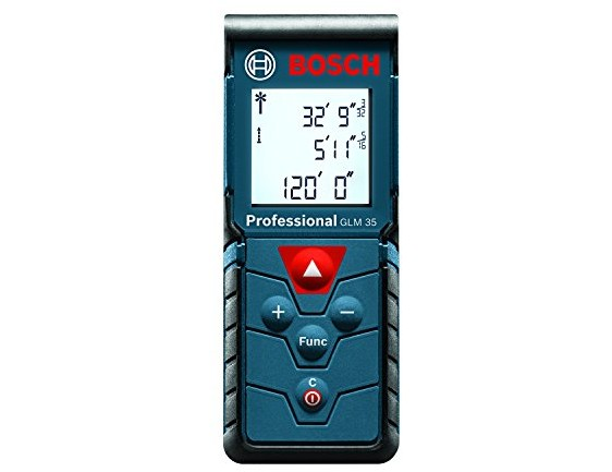 Bosch GLM 35 Laser Measure, 120-Feet $48.00 (reg. $79.99)