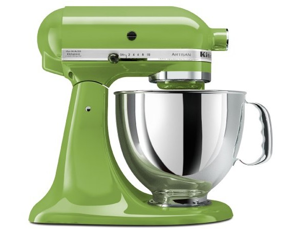 KitchenAid KSM150PSGA Artisan Series 5-Qt. Stand Mixer with Pouring Shield - Green Apple $224.53 (reg. $429.99)
