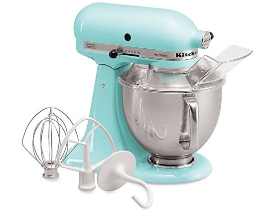 KitchenAid KSM150PSIC Artisan Series 5-Qt. Stand Mixer with Pouring Shield - Ice $246.38 (reg. $429.99)