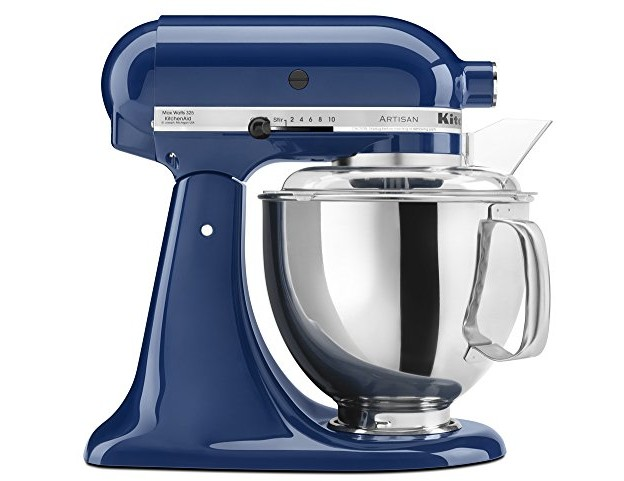 KitchenAid KSM150PSBW Artisan Series 5-Qt. Stand Mixer with Pouring Shield - Blue Willow $247.19 (reg. $259.99)