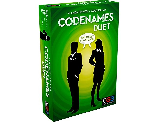 Codenames: Duet - The Two Player Word Deduction Game $17.71 (reg. $19.95)