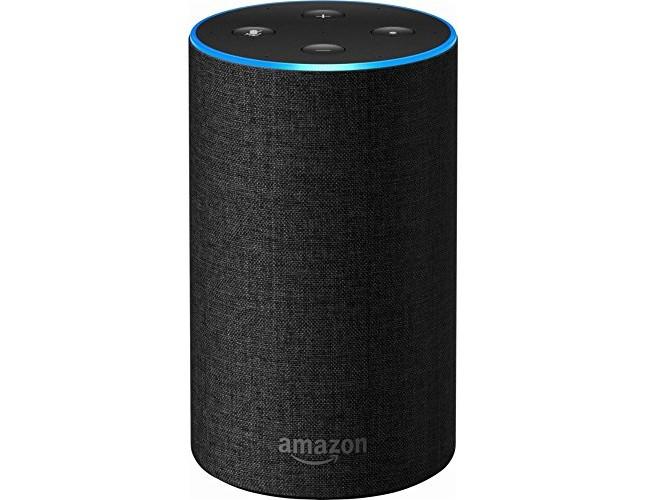 Echo (2nd Generation) - Smart speaker with Alexa - Charcoal Fabric $99.99