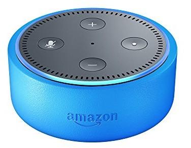 Echo Dot Kids Edition, a smart speaker with Alexa for kids - blue case $79.99