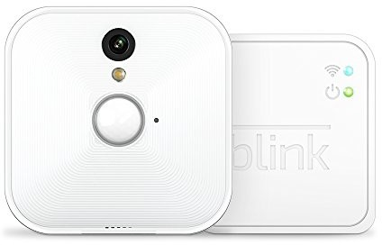 Blink Indoor Home Security Camera System with Motion Detection, HD Video, 2-Year Battery Life and Cloud Storage Included - 1 Camera Kit $99.00