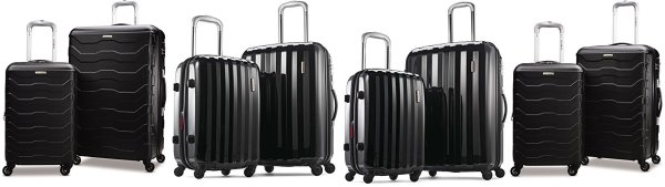 Amazon Prime Day: Up to 70% Off Samsonite 2-Piece Spinner Sets!