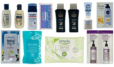 Women's Skin and Hair Care Sample Box (get an equal credit toward future purchase of select Beauty products) $9.99