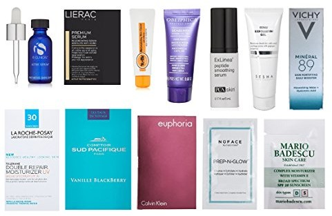 Luxury Skin Care Sample Box (get an equal credit toward future purchase of select Luxury Beauty products) $19.99