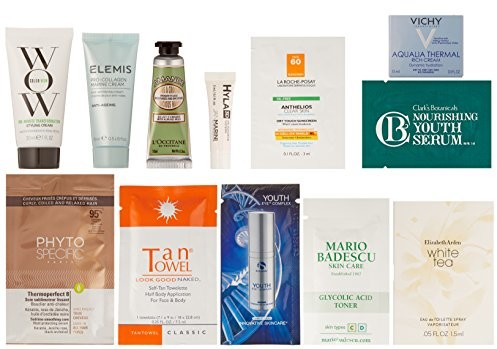 Luxury Women's Beauty Box, 10 or more samples ($19.99 credit on select products with purchase) $19.99
