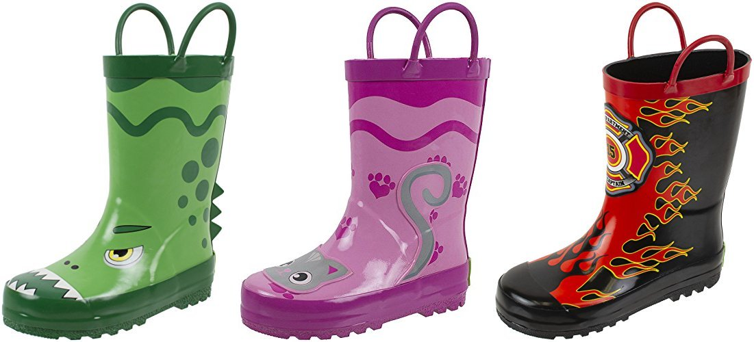 Deal of the Day: Save 25% on Toddler & Kids Rain Boots by Rainbow Daze -- From $16.49!